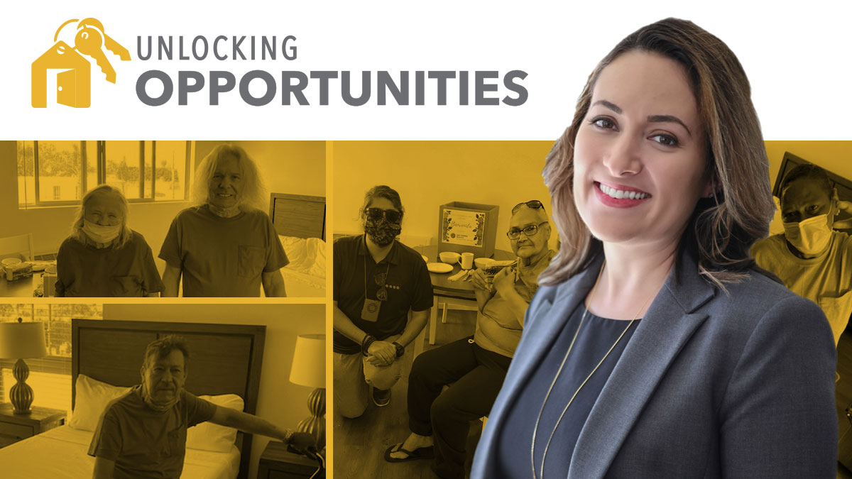 Unlocking Opportunities - AJ Galka-Gonyeau, Director of Resident Services and Permanent Supportive Housing